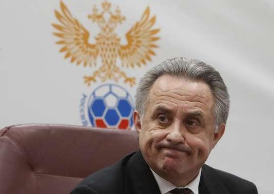 Vitali Moutko, le 25 décembre, lors de sa conférence de presse.