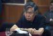Alberto Fujimori lors de son procès, à Lima, en octobre 2013.