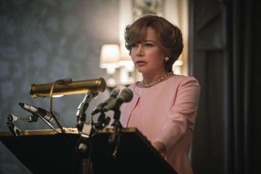 Michelle Williams dans le film américain de Ridley Scott, «Tout l'argent du monde» («All The Money In The World»).