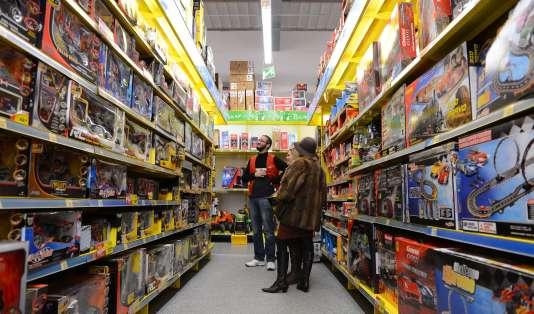 Magazin de jouets, àChambray-Les-Tours ( Indre-et-Loire ), en 2012.
