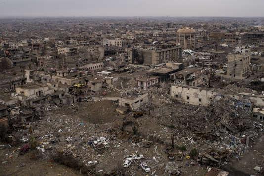 La famille avait été capturée en juillet lors de la reprise de la ville de Mossoul à l'EI.