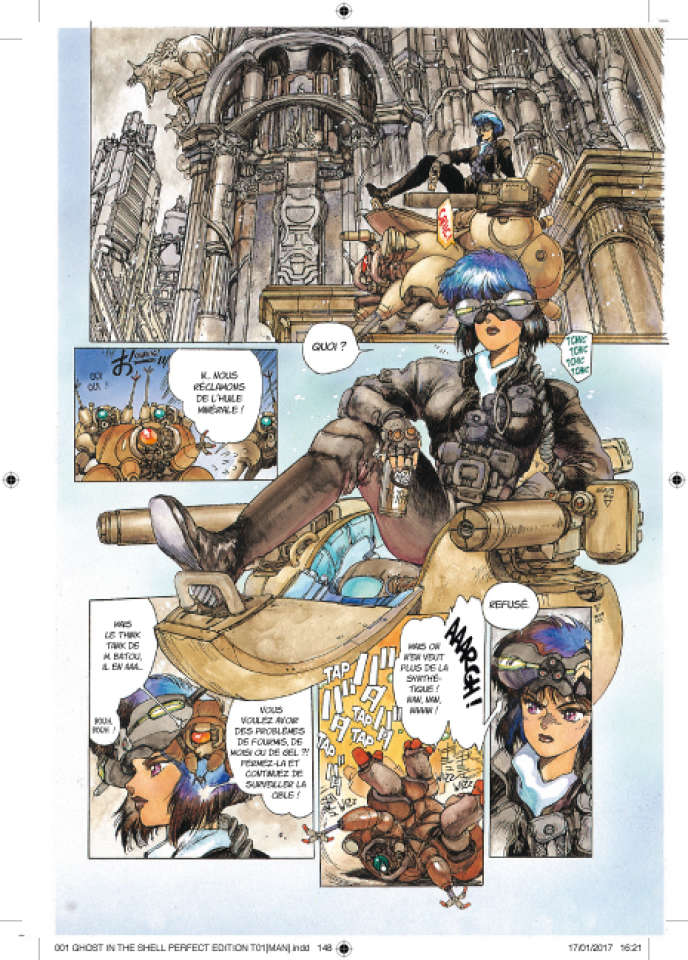 «Ghost in the Shell» (1989), deMasamune Shirow.