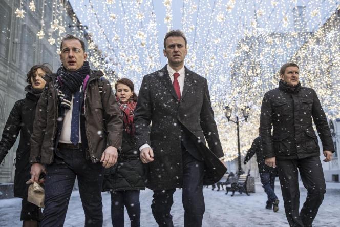 L'opposant russe Alexei Navalny, à Moscou, le 25 décembre.