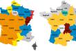Les prénoms féminins et masculins les plus populaires en France métropolitaine en 2015.