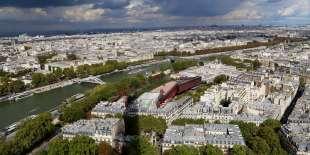 Vue de Paris, en septembre 2017.