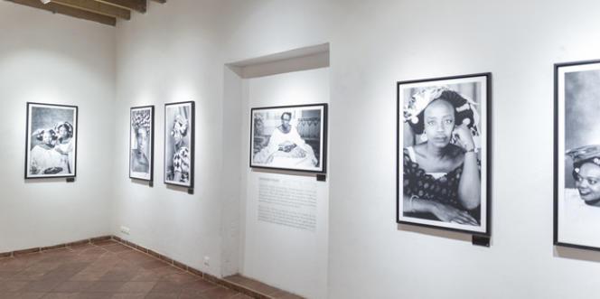« Rêveries d'hier et songes du présent », l'exposition inaugurale du Musée de la photographie de Saint-Louis, au Sénégal, en 2017.
