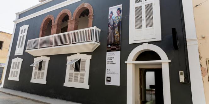 Le Musée de la photographie de Saint-Louis, au Sénégal.