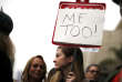 "FILE PHOTO: People participate in a ""MeToo"" protest march for survivors of sexual assault and their supporters in Hollywood, Los Angeles, California, U.S. on November 12, 2017. REUTERS/Lucy Nicholson/File Photo"