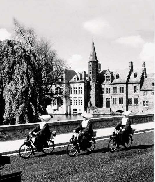 Bruges, en 1962.