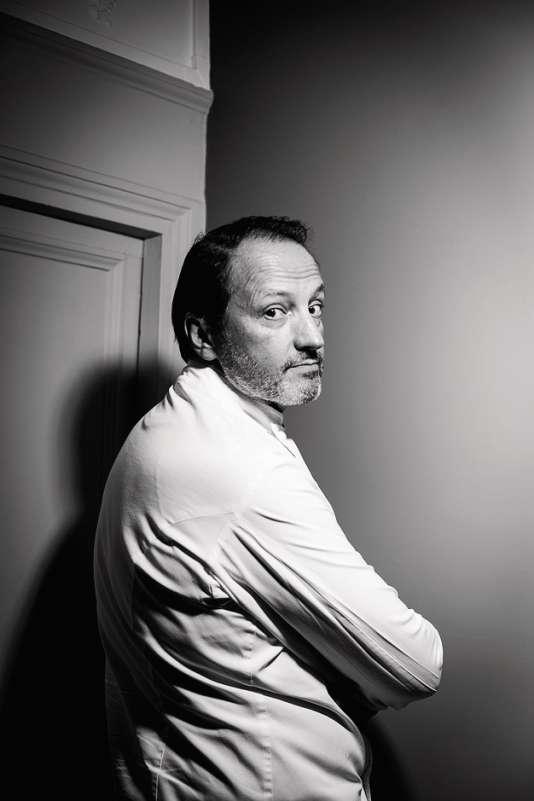 Gilles Vérot est à la tête de trois charcuteries à Paris.