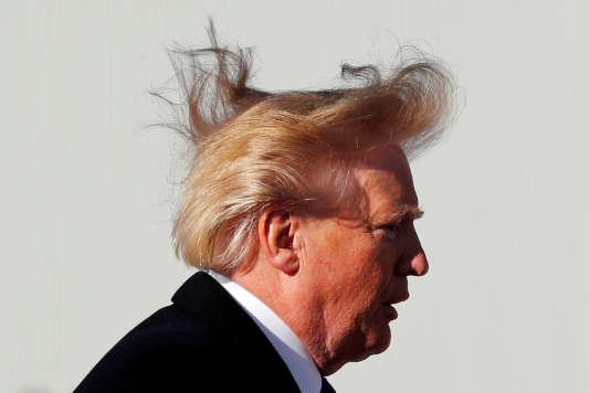 Donald Trump a opté pour un blond vénitien (qui vire parfois à l'orange).