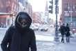 Dans les rues de Quebec, frappé par un froid arctique, mercredi 27 décembre.
