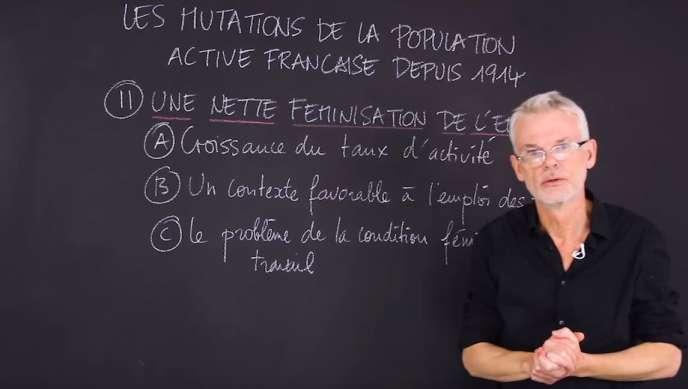Alain Mantez, professeur d'histoire-géographie et membre du collectif Les Bons Profs.