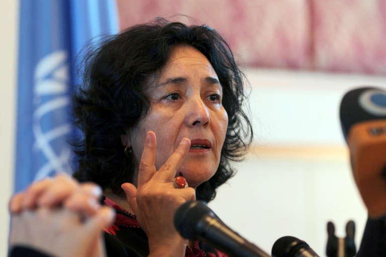 Leila Zerrougui, la nouvelle cheffe de la Monusco, ici à Sanaa, au Yémen, en 2012.