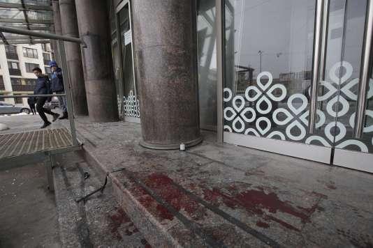 L'explosion a eu lieu vers 18 h 30, heure locale, sur l'avenue Kondratiev, dans le nord-est de la deuxième plus importante ville de Russie.