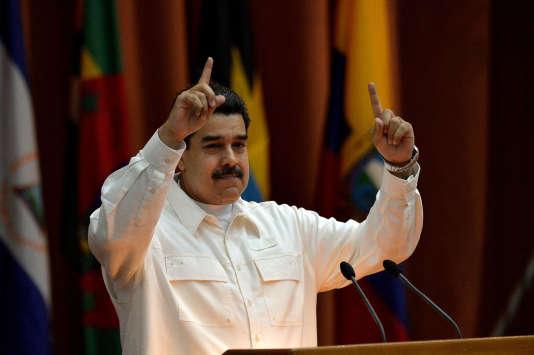 Le président vénézuélien Nicolas Maduro, le 14 décembre 2017.