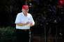 Donald Trump auTrump International Golf Club de Palm Beach, en Floride, le 29décembre.