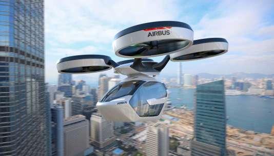 Le concept PopUp développé par Airbus.