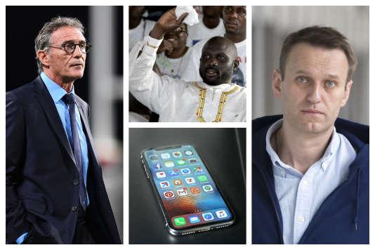 Guy Novès, George Weah, Alexeï Navalny et... un iPhone.