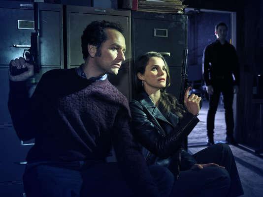 Philip Jennings (Matthew Rhys) etElizabeth Jennings ( Keri Russell).