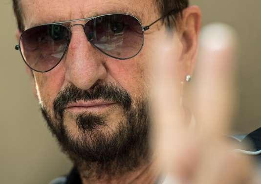 Ringo Starr, l'ancien batteur des Beatles, le 14 septembre à Londres.