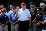 Donald Trump, dans son golf de West Palm Beach (Floride), le 29 décembre 2017.