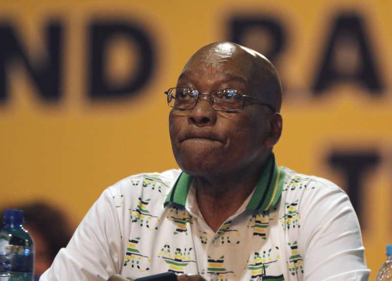 A la tête de l'Afrique du Sud depuis 2009, Jacob Zuma a démissionné la semaine dernière de la présidence du parti au pouvoir.