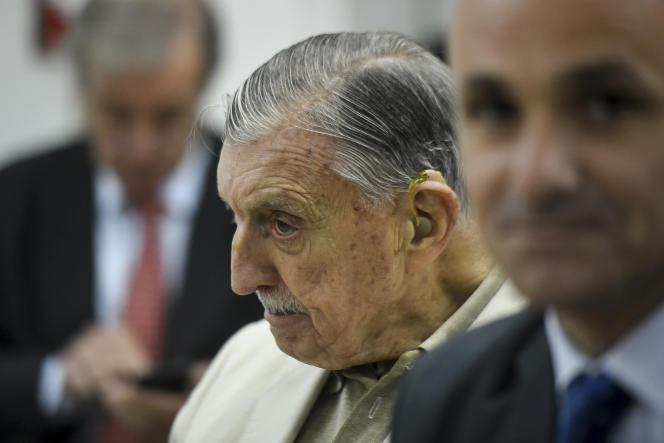 Sur le banc des accusés du «procès Ford», le 19 décembre, le chef de la sécurité de l'usine, Hector Sibilla (91 ans), qui a travaillé jusqu'en2004 à l'ambassade des Etats-Unis à Buenos Aires.