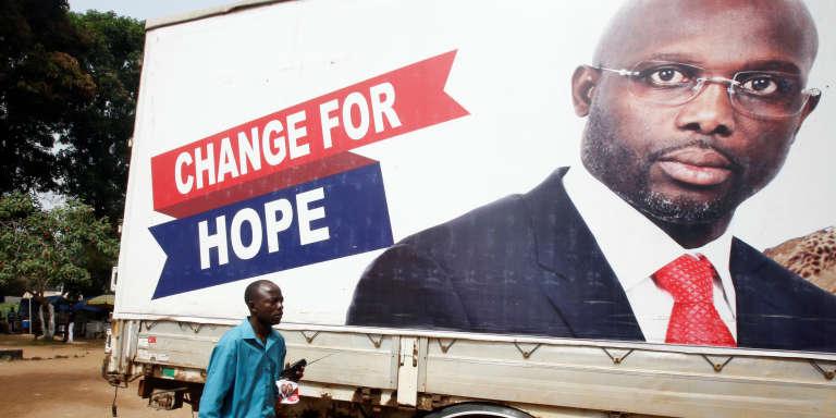 A Monrovia, au Liberia, le 27décembre 2017.