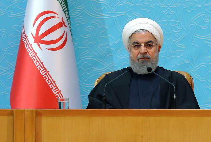 Hassan Rohani à Téhéran, le 5 décembre.