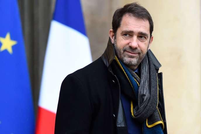 Christophe Castaner, à Paris, le 13 décembre.