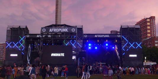 Le festival Afro Punk se tient les 30 et 31 décembre 2017 sur Constitution Hill à Johannesburg.