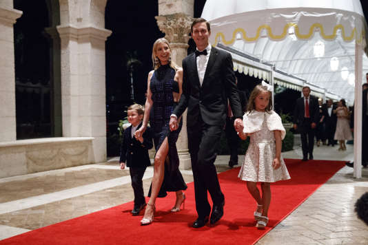 Jared Kushner et Ivanka Trump, le 31 décembre à Palm Beach.