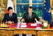 Emmanuel Macron a paraphé, le 30 décembre 2017, le texte de loi mettant fin à la recherche ainsi qu'à l'exploitation des hydrocarbures conventionnels et non conventionnels