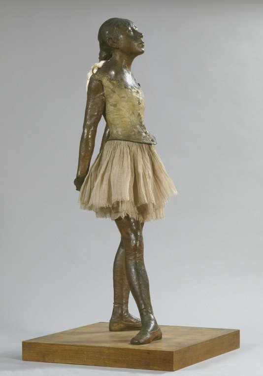 «Petite danseuse de quatorze ans», 1921-1931 (fonte),Edgar Degas (1834-1917).