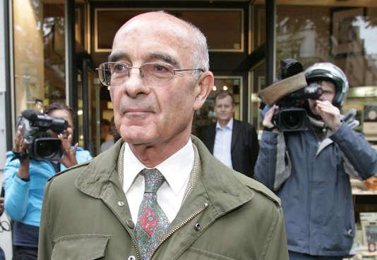 Philippe Rondot, en mai 2006 à Paris.
