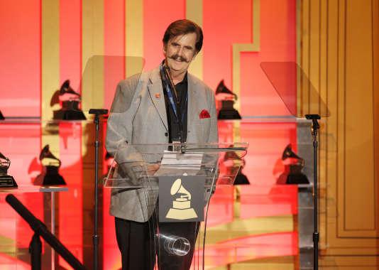 Rick Hall lors de la cérémonie des Grammy Awards, à Los Angeles, le 25 janvier 2014.