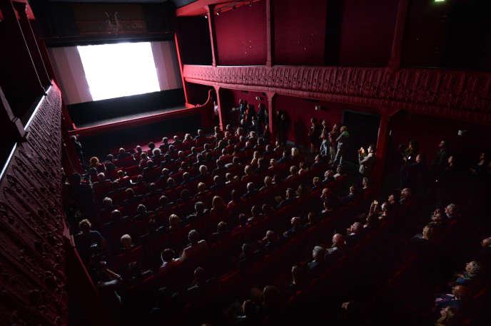 Une salle de cinéma de La Ciotat, le 9 octobre 2013.