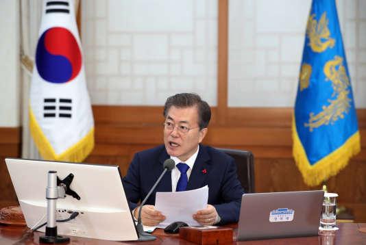 Le président sud-coréen, Moon Jae-in, le 2 janvier à Séoul.