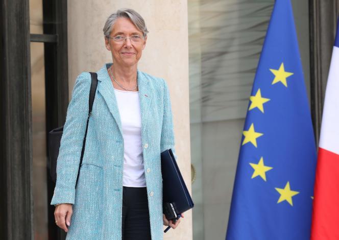 La ministre des transports Elisabeth Borne, le 18 octobre à l'Elysée.