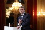 Emmanuel Macron, le 3 janvier 2018.