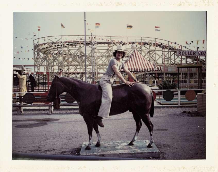 « Fairground», Los Angeles, 1973.
