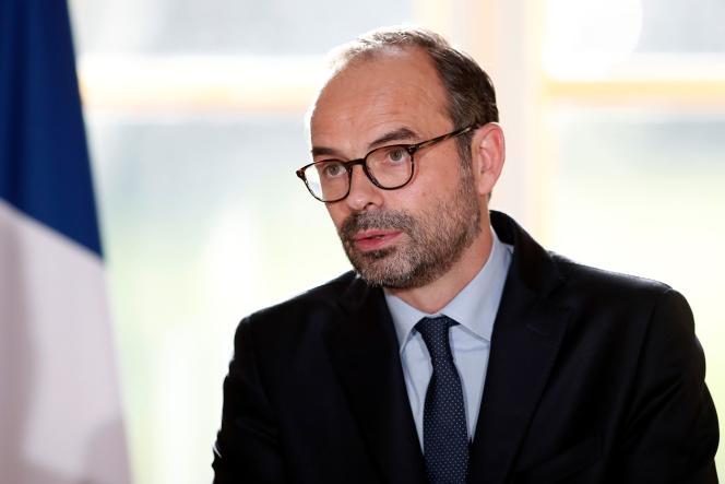 Edouard Philippe à l'Elysée, le 3 janvier.