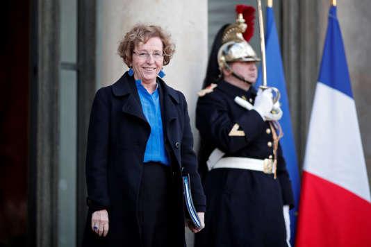 La ministre du travail, Muriel Penicaud, à l'Elysée, le 3 janvier.