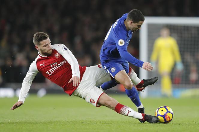 Lors du match de Premier League anglaise entre Chelsea et Arsenal, à Londres, le 3 janvier.