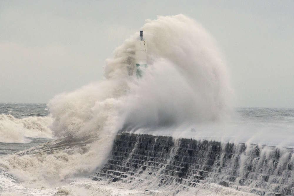 A Aberystwyth, au pays de Galles, le 3 janvier.