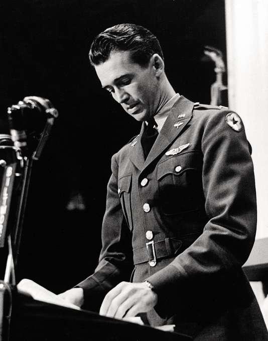 James Stewart aux Oscars en 1942.