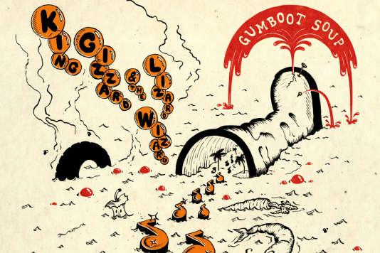 Pochette de l'album«Gumboot Soup»de King Gizzard & the Lizard Wizard.
