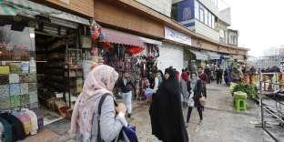 A Téhéran, le 2 janvier.