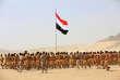 Province de Marib, 27 septembre 2016. Un défilé militaire commémore le 54e anniversaire du coup d'Etat au Yémen du Nord.